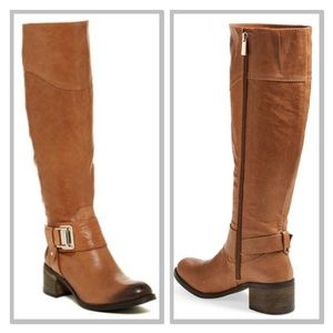 VINCE CAMUTO Finella Tall Leather Boot